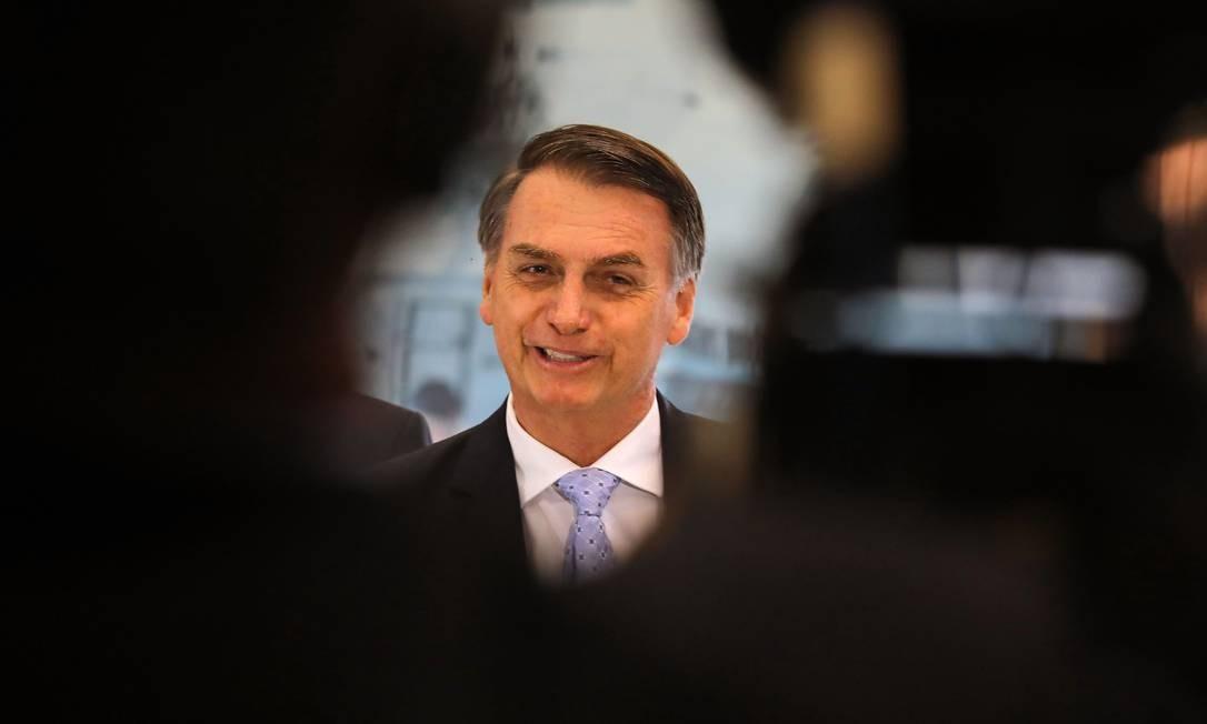 Bolsonaro já anunciou 15 nomes para os ministérios do próximo governo Foto: SERGIO LIMA / AFP