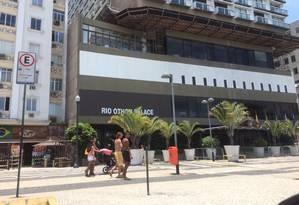 A fachada do Rio Othon Palace, em Copacabana Foto: Rafael Soares / Rafael Soares/1-1-2015