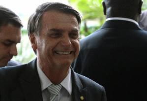 O presidente eleito, Jair Bolsonaro (PSL) Foto: Jorge William / Agência O Globo