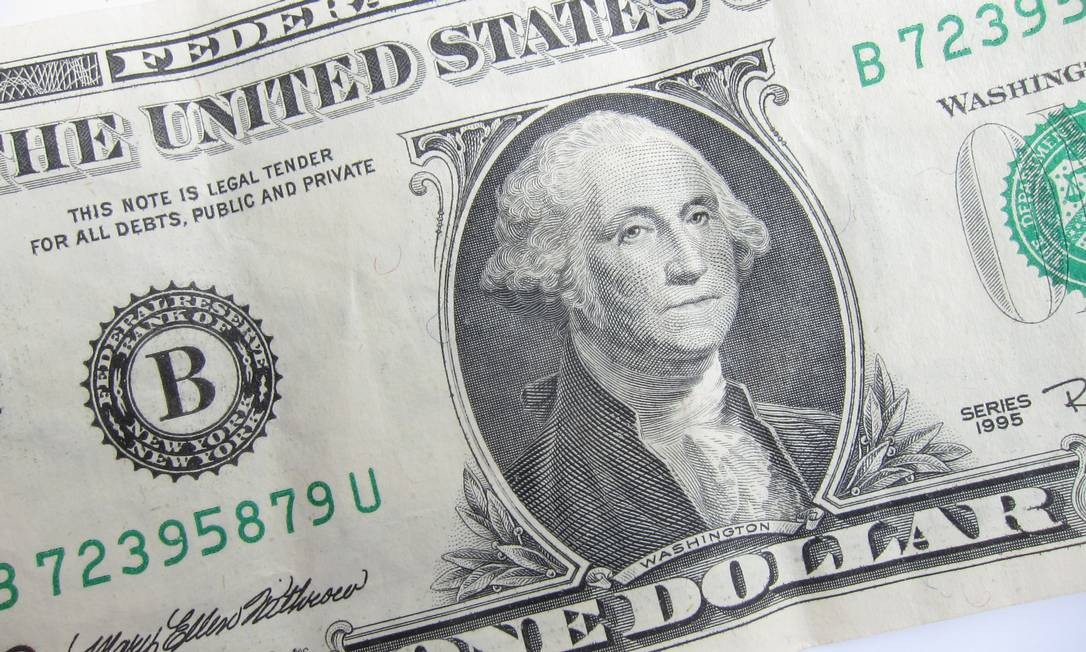 Cédula de dólar, a moeda oficial dos Estados Unidos Foto: Reprodução
