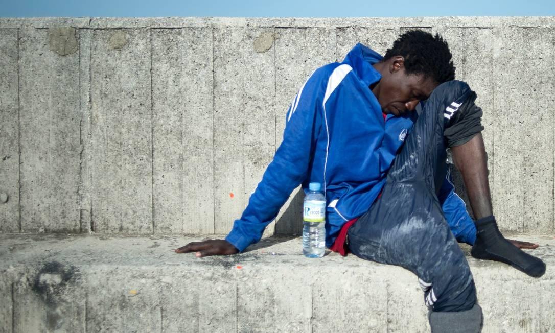 Pesquisa encomendada pela União Europeia aponta que quase um terço dos afrodescendentes na Europa relatam já ter sofrido racismo Foto: JORGE GUERRERO / AFP