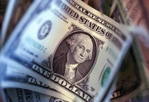Banco Central vai mudar regras para compras em dólar no cartão de crédito Foto: Chris Ratcliffe / Bloomberg
