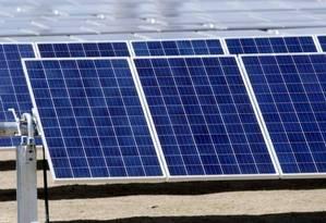BP anunciou que vai entrar no mercado de energia solar brasileiro Foto: Reuters / Infoglobo