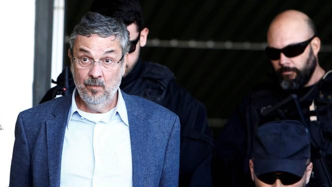 Antonio Palocci, ex-ministro da Fazenda, fechou acordo de delação premiada com a PF em março passado Foto: Rodolfo Buhrer / Reuters