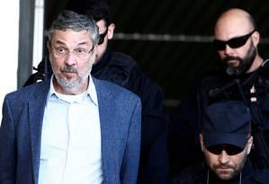 Antonio Palocci, ex-ministro da Fazenda, fechou acordo de delação premiada com a PF Foto: Rodolfo Buhrer / Reuters