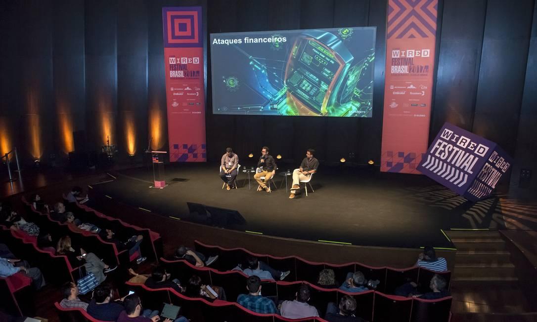 Wired Festival em edição de 2017 Foto: FABIO CORDEIRO / Infoglobo