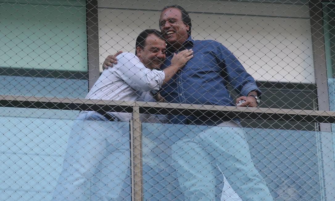 Em 2006, Cabral é eleito governador do Rio de Janeiro e Pezão, seu vice Foto: Fernando Maia / Agência O Globo