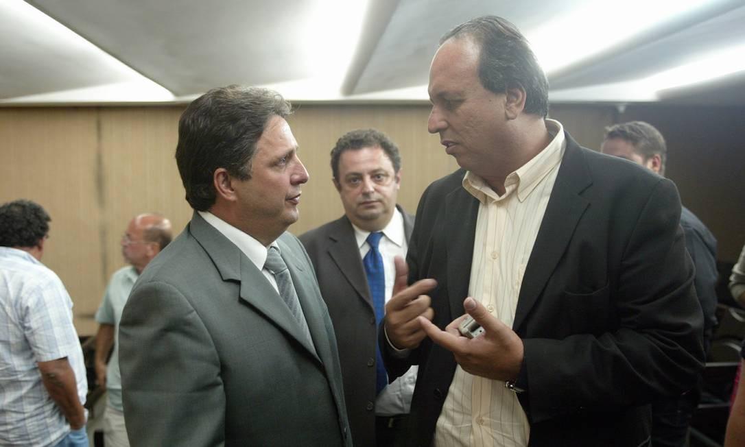 Em 2005, Pezão assumiu a secretaria de governo de Rosinha Garotinho quando Anthony Garotinho deixou a pasta para disputar a Presidência da República Foto: Marcelo Carnaval / Agência O Globo