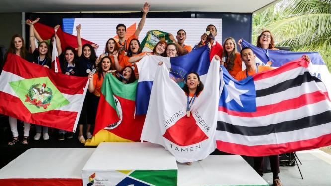 Vencedores das competições Senac Foto: Divulgação