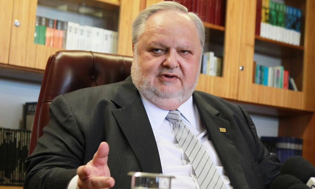 O ministro Felix Fischer Foto: Aílton de Freitas em 31/08/2012 / Agência O Globo