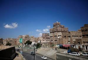 Vista da Cidade Velha de Sana, no Iêmen; país está em guerra desde 2014 Foto: MOHAMED AL-SAYAGHI / REUTERS