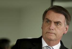 Bolsonaro: 'Parabéns à Lava-Jato' pela prisão de Pezão Foto: Gabriel de Paiva / Agência O Globo