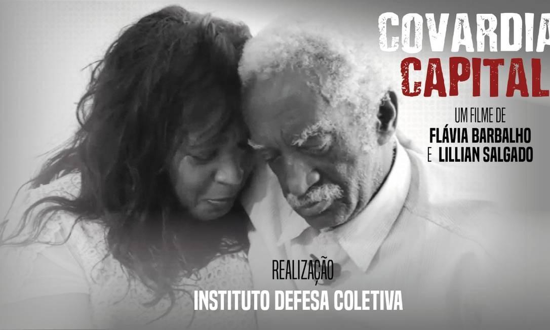 Cartaz do documentário que retrata a história de idosos que sofreram abusos de bancos Foto: Reprodução