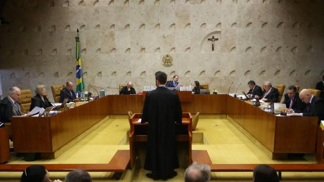 Discussão sobre indulto de Natal acontece no plenário do Supremo Foto: Ailton de Freitas / Agência O Globo