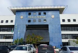 Sede da Polícia Federal, em Curitiba Foto: Infoglobo