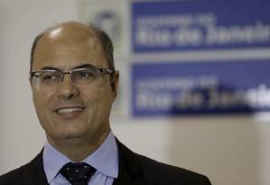 Governador eleito Wilson Witzel Foto: Marcelo Theobald / Agência O Globo