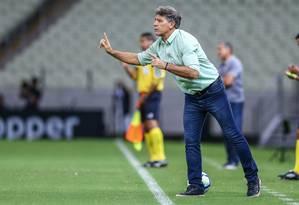 Renato Gaúcho vai continuar no Grêmio Foto: Lucas Uebel / Lucas Uebel/Gremio FBPA