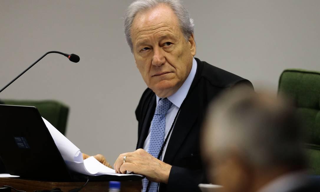 O ministro Ricardo Lewandowski, do Supremo Tribunal Federal Foto: Jorge William / Agência O Globo/02-10-2018