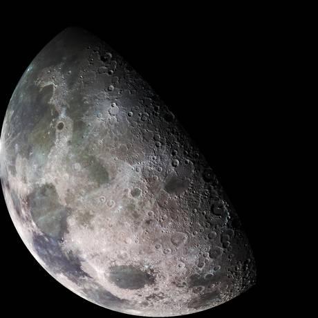 Ideia da Nasa é ser apenas a primeira cliente de um mercado de transporte Terra-Lua Foto: Divulgação/NASA-Goddard