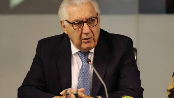O Presidente do Sebrae, Guilherme Afif Domingos Foto: Jorge William / Agência O Globo