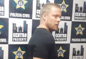 Esper Petersen foi preso por agentes do Centro Presente Foto: Divulgação