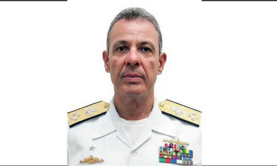 Almirante de Esquadra Bento Costa Lima Leite de Albuquerque Junior Foto: Reprodução - Site da Marinha