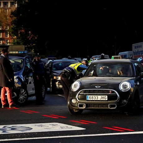 Medida para combater emissões entra em vigor em Madri Foto: Juan Medina / REUTERS