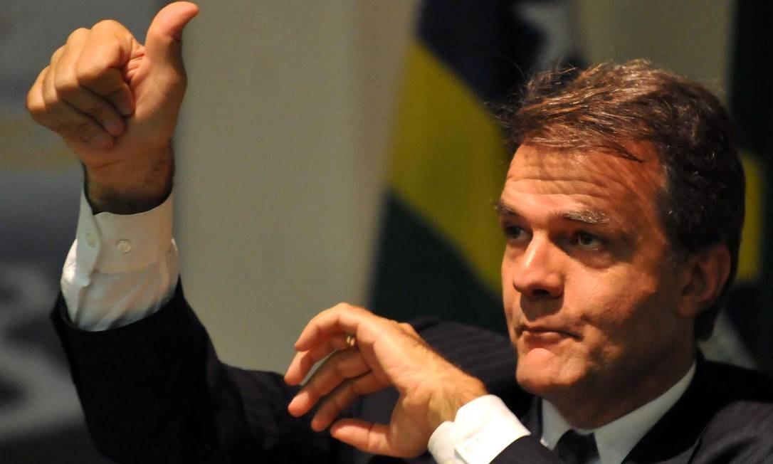 O professor de ciência política da UnB Ricardo Caldas Foto: Antônio Cruz / ABr