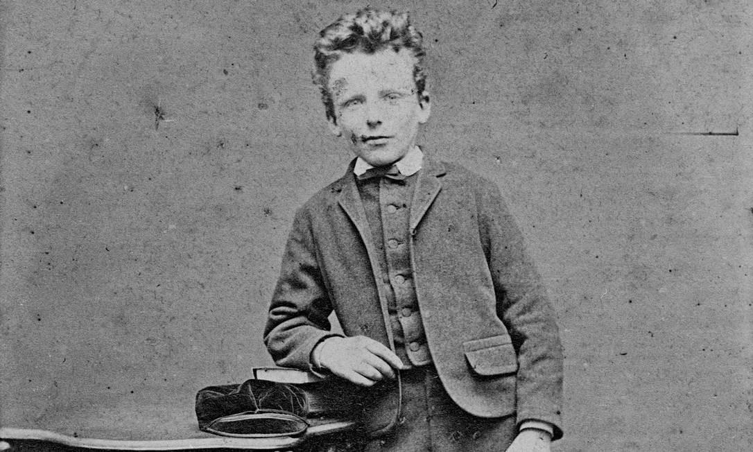 Theo Van Gogh, em foto que acreditava-se ser do pinto Vincent, seu irmão Foto: H J WEESING / NYT