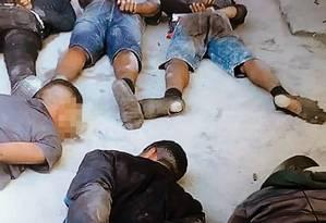 Presos denunciaram tortura em quartel Foto: Reprodução