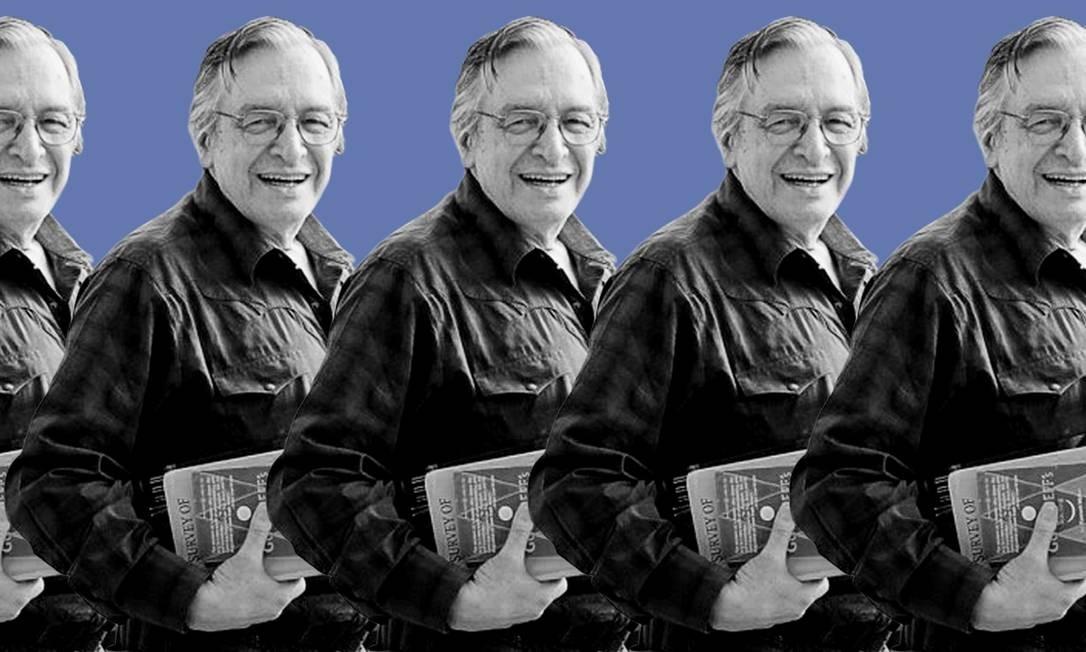 O filósofo Olavo de Carvalho Foto: Tratamento de imagem baseado em fotografia de Josias Teófilo