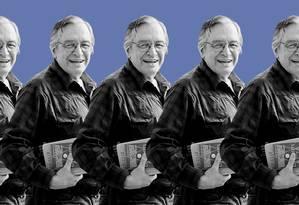 O filósofo Olavo de Carvalho Foto: Tratamento de imagem em cima de fotografia de Josias Teófilo