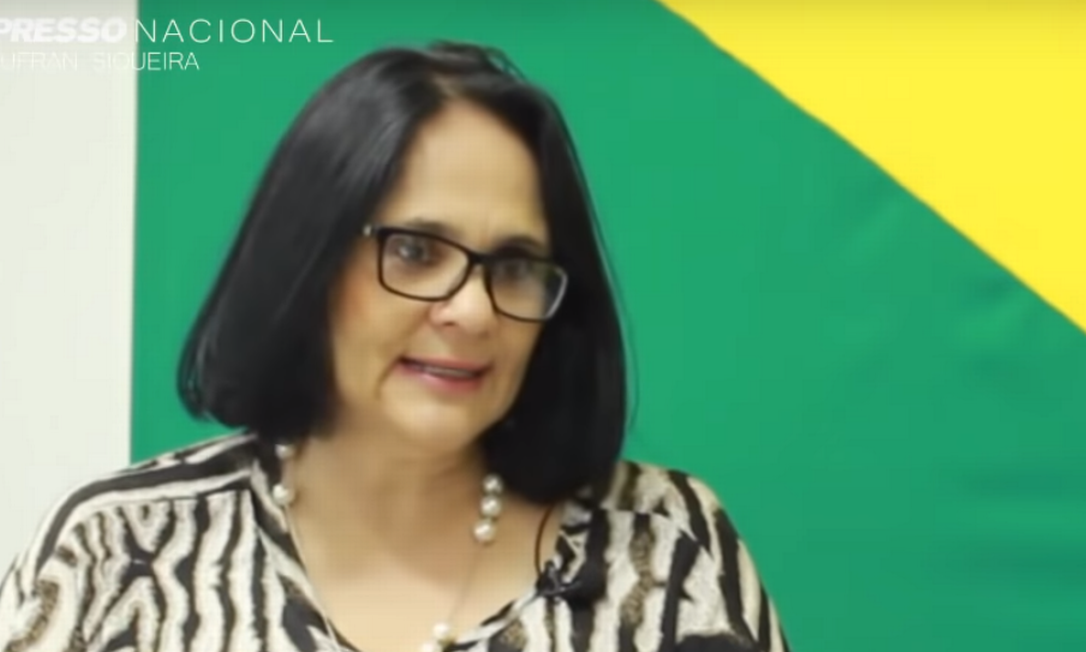 Damares Alves é pastora, advogada e assessora do senador Magno Malta Foto: Reprodução / Youtube