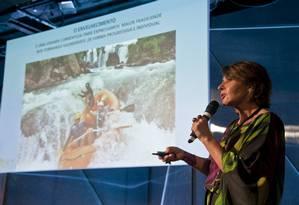 Vania Assaly participou de debate sobre longevidade Foto: Agência O Globo