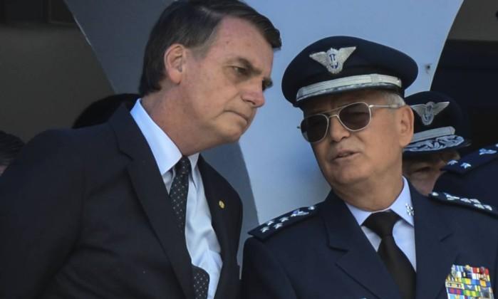 O presidente eleito, Jair Bolsonaro, participa na cidade de Guaratinguetá, no Vale do Paraíba, em São Paulo, da formatura de sargentos da Aeronáutica na Escola de Especialistas da Aeronáutica (EEAR). Foto: Rovena Rosa / Agência Brasil