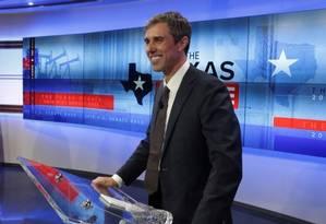 Beto O'Rourke: para muitos, a esperança democrata para 2020 Foto: Reuters