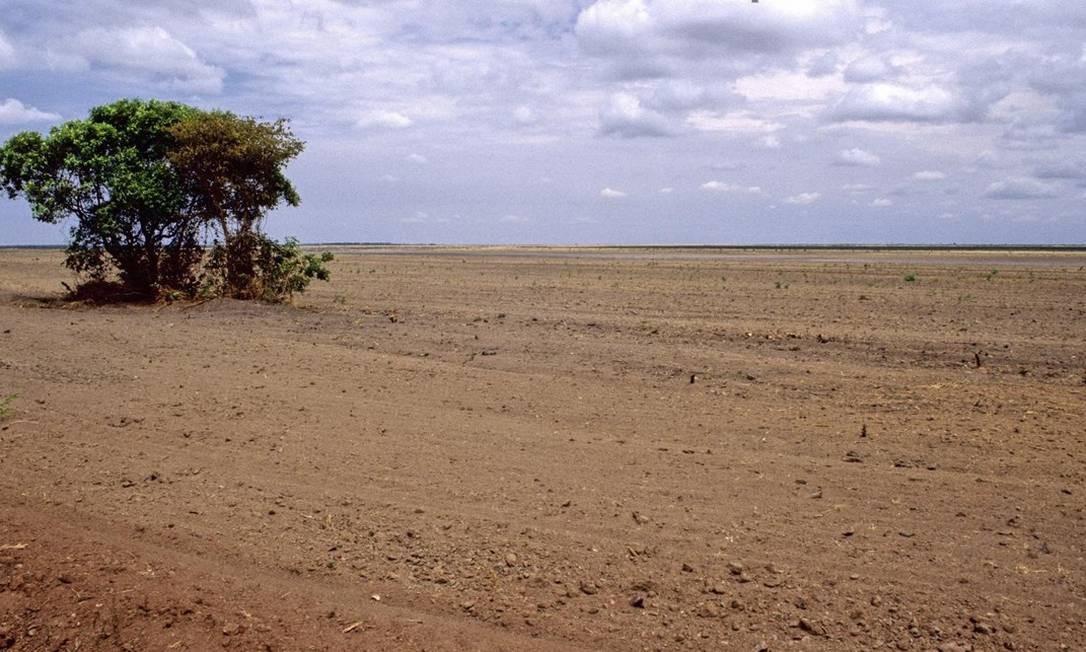 Pelo Cerrado passam 12 bacias hidrográficas do país; apesar disso, desmatamento do bioma cresce quatro vezes mais rápido do que o da Amazônia Foto: Latinstock/26-4-2012