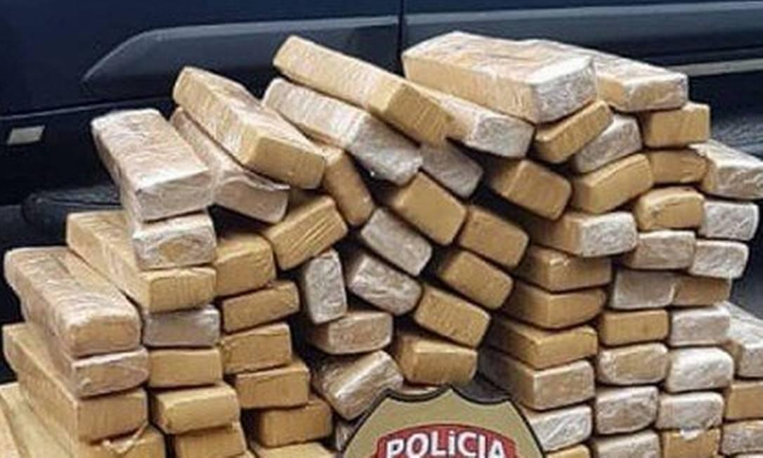 Apreensão de drogas na Baixada Fluminense Foto: Divulgação