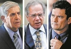 Ministério de Bolsonaro tem 80% de novatos na política Foto: Imagem / Reprodução