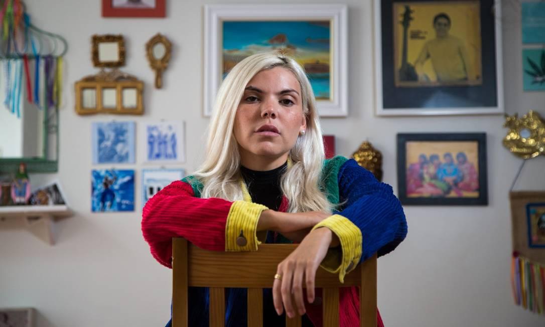 Cantora Duda Beat Foto: Emily Almeida / Agência O Globo