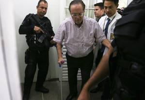 O ex-deputado Paulo Maluf, que tem uma adega com os melhores vinhos do mundo, está em prisão domiciliar Foto: Givaldo Barbosa / Agência O Globo
