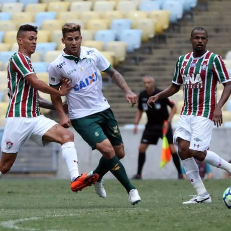 O Fluminense bateu o América-MG Foto: Lucas Tavares / DiaEsportivo / Agência O Globo