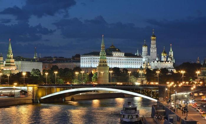 Kremlin, em Moscou Foto: Andrey Korzun / Wikipédia