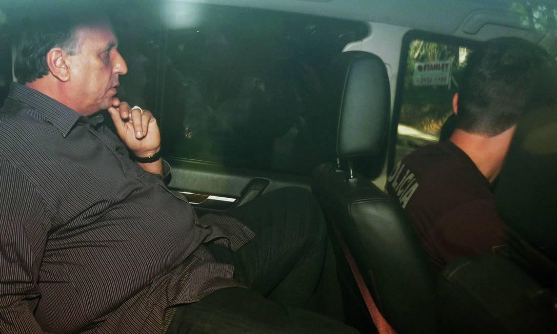 O governador Luiz Fernando Pezão foi preso na semana passada Foto: Marcio Alves / Agência O Globo