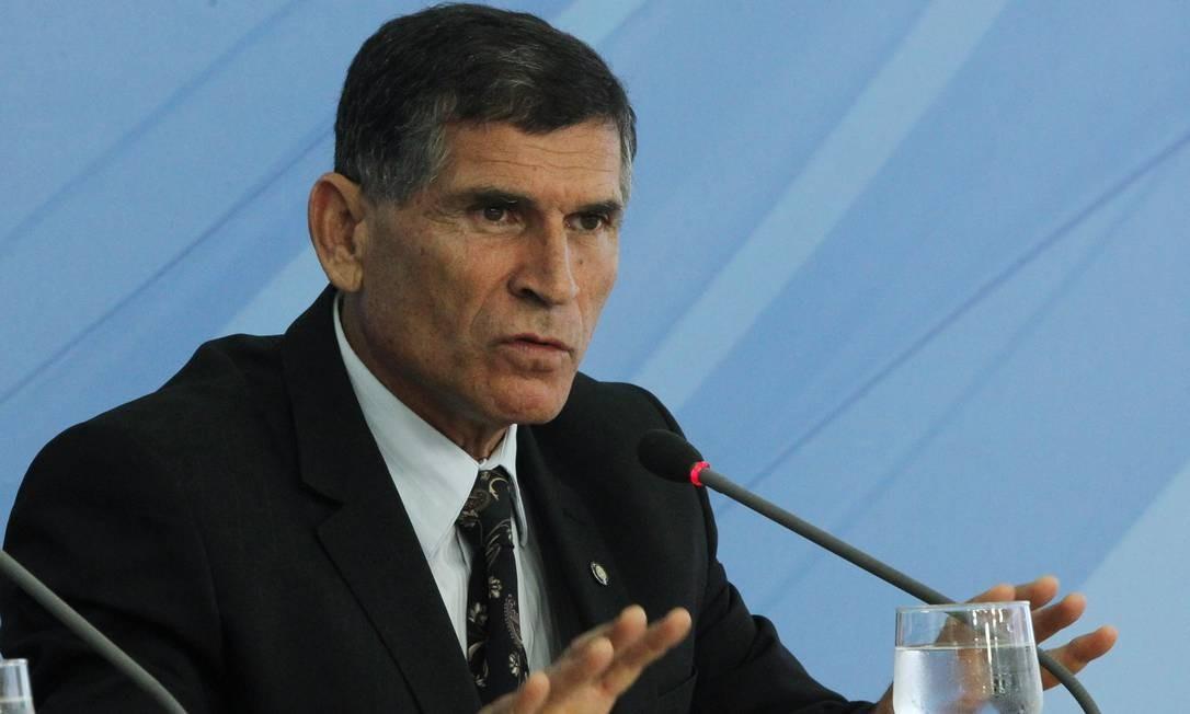 O general Santos Cruz será o responsável pela Secretaria de Governo de Bolsonaro Foto: Givaldo Barbosa / Agência O Globo
