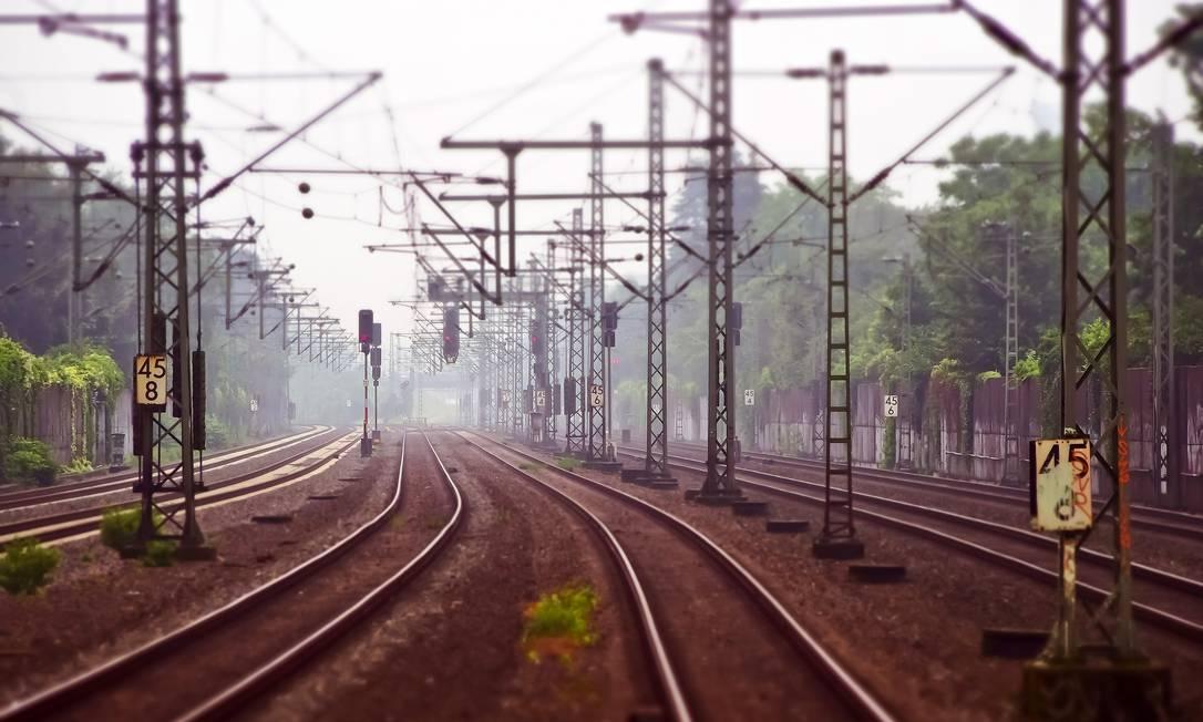 A IA está ajudando na manutenção de trens e trilhos, identificando o nível de desgaste do rodeiro Foto: Pixabay