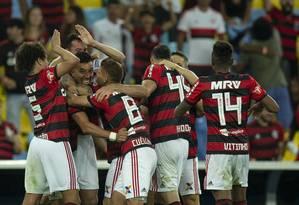 ESP Rio de Janeiro 21/11/2018 - Campeonato Brasileiro 2018 - Jogo entre Flamengo x Gremio no Maracana. Foto Alexandre Cassiano / Agência O Globo. Foto: Alexandre Cassiano / Agência O Globo