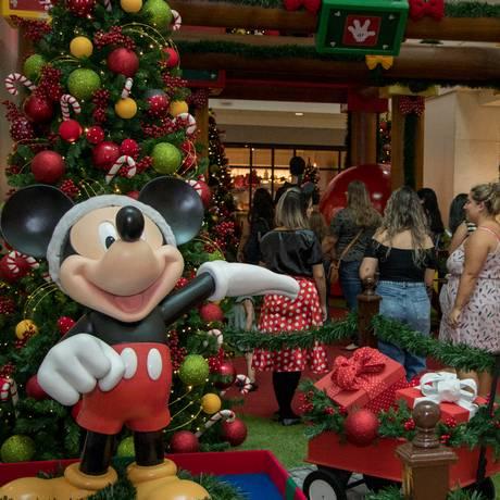 A magia da Disney está no Shopping Tijuca Foto: Divulgação / Divulgação