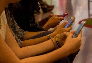 O 5G entrega maior velocidade de internet por meio de uma tecnologia sem fio Foto: Brenno Carvalho / Agência O Globo