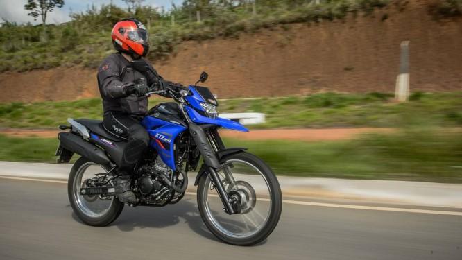 A nova XTZ 250 Lander chega às lojas da Yamaha em janeiro Foto: Stephan Solon / Divulgação
